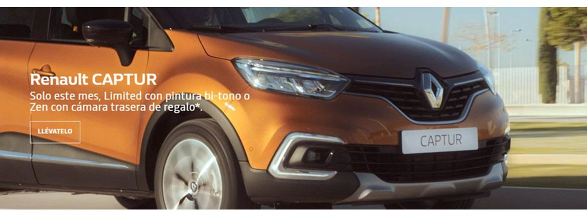 renault captur limited zen